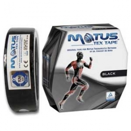 Motus tex tape (cm 5 x 35metri) BLACK