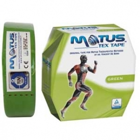 Motus tex tape (cm 5 x 35metri) GREEN