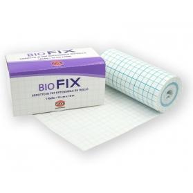 Biofix cerotto estensibile in TNT bianco microforato cm 15x10 mt