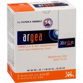 Argea - confezione con 5 buste da 25 gr.-