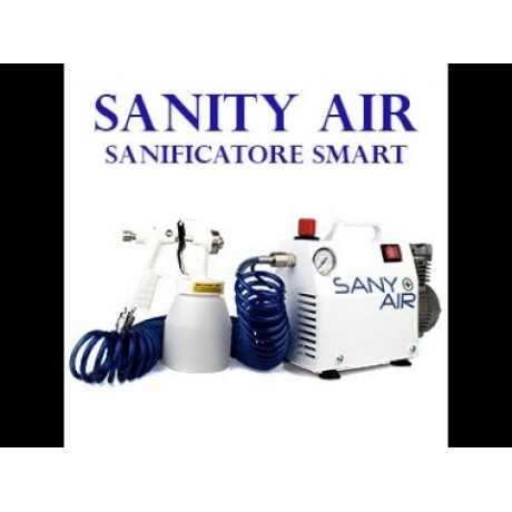 "SANIFICATORE PER AMBIENTE ""SANITY AIR"""