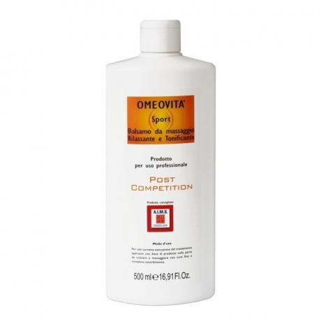 OLIO DA MASSAGGIO PRE-GARA con Canfora 500 ml