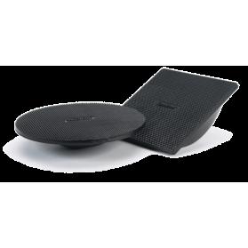 Tavola WOBBLE BOARD con superficie rotonda, fondo ad emisfera